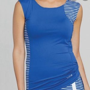 NWT Bolle Wisteria Bluewater Sleeveless Tennis Top